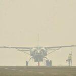 Kabut Asap, Penerbangan di Bima Terganggu