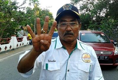 Ishaka, Tim DINDA dari Partai Pengusung. Foto: Noval