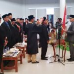 PAW, Jaidin Dilantik Menjadi Anggota DPRD Kota Bima