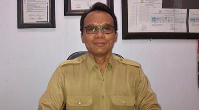 Ketua Yayasan Akbid Surya Mandiri Bima,  H. Jubair S.Km M.Kes. Foto: Eric