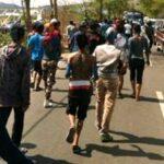 Korban Bentrok Konvoi Simpatisan Paslon Lapor Polisi