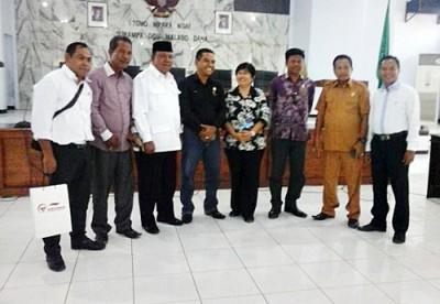 Ombudsman RI saat berkunjung ke DPRD Kab Bima. Foto: Ady