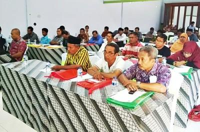 Peserta Workshop yang digelar PNPM Generasi. Foto: Hum
