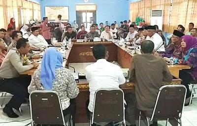 Rakor Desk Pemilukada Kabupaten Bima. Foto: Hum