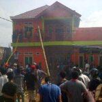 Kebakaran di Mande, Tiga Orang Terluka