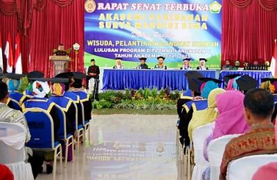 Wakil Walikota H. A. Rahman H. Abidin saat memberikan sambutan. Foto: Eric