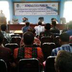 Wawali Buka Konsultasi Publik Raperda RDTR Dua Kecamatan