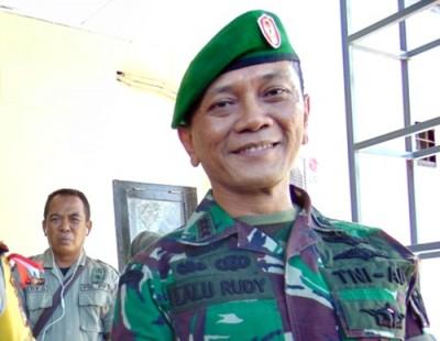Danrem 162 Wirabakti, Kolonel CZI Lalu Rudi Irham Srigede. Foto: Ady