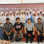 KPU Sasar Pemilih Pemula di SMAN 1 Wawo
