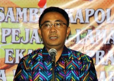 Kapolres Bima Kabupaten AKBP. Gatut Kurniadi SIK. Foto: Bin