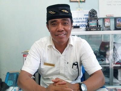 Kepala SMKN 3 Kota Bima, Sanusin Ahmad. Foto: Eric