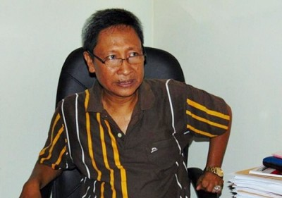 Ketua Devisi Logistik dan Rumah Tangga KPU Kabupaten Bima Muhammad Taufik. Foto: Ady