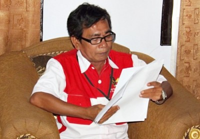 Ketua PS-NKRI Propinsi NTB, Hazairin MS. Foto: Eric