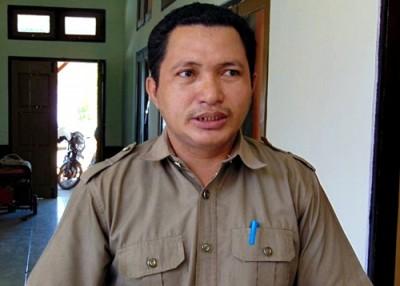 Komisioner KPU Kabupaten Bima M. Waru. Foto: Ady