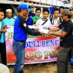 MJC Bima Bantu Korban Kebakaran Bajo Pulau