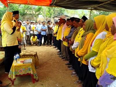 Pengukuhan Tim DINDA di Kecamatan Lambitu. Foto: Noval