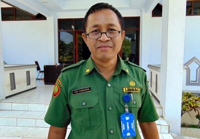 Sekretaris BKD Kabupaten Bima Tamsil HMS. Foto: Bin