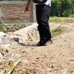 Baru Dikerjakan, Proyek Talud di Kelurahan Santi Rusak Parah