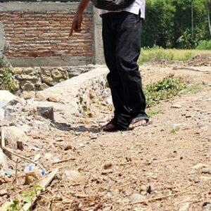 Talud di Kelurahan Santi tak Kunjung Diperbaiki