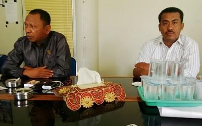 Anggota DPRD Kota Bima Nazamudin dan M. Irfan. Foto: Bin