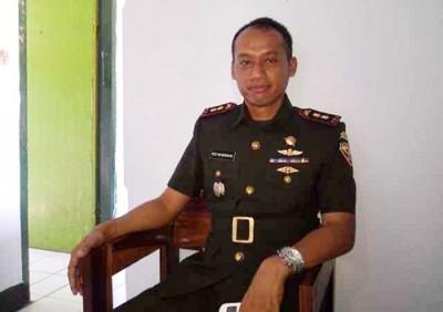 Dandim 1608 Bima, Letnan Kolonel Arh Edy Nugroho. Foto: Eric