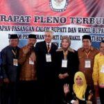 KPU Tetapkan Pasangan DINDA Jadi Bupati dan Wakil Bupati Bima