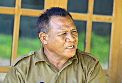 Kepala Bidang KPMP Dinas Dikpora Kabupaten Bima, H. Asraruddin. Foto: Deno