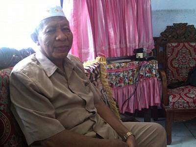 Kepala SMPN 5 Kota Bima, H. Hafid Ibrahim. Foto: Eric