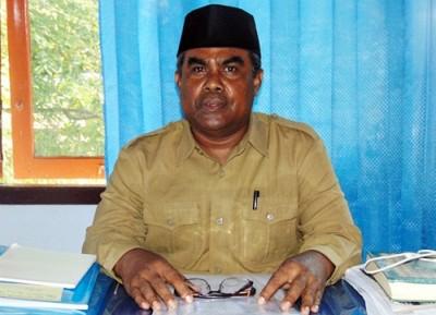 Kepala Seksi Madrasah Kantor Kemenag Kabupaten Bima, Abdul Haris. Foto: Ady