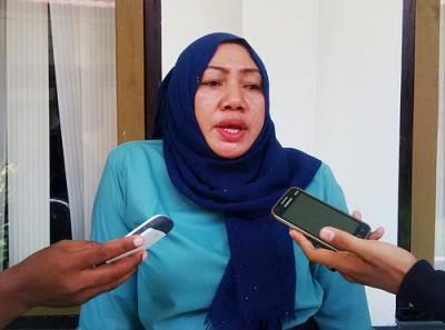 Ketua KPU Kabupaten Bima, Siti Nursusila. Foto: Bin