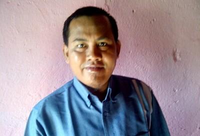 Ketua Yayasan Bina Insani Kabupaten Bima Nukman HMT