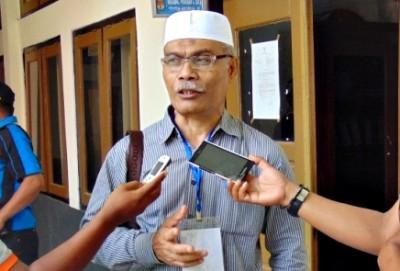 Komisioner Bawaslu NTB, Syamsudin. Foto: Bin