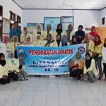 Mahasiswi Harbun Gandeng BSMI Gelar Pengobatan Gratis