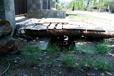 Proyek Drainase yang disorot warga. Foto: Bin