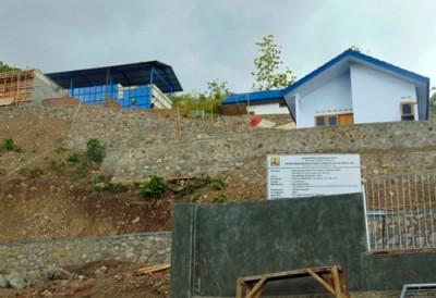 Proyek SPAM di Dodu. Foto: Ady