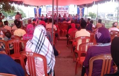 Reses Anggota Dewan Dapil 2 di Kelurahan Paruga. Foto: Eric