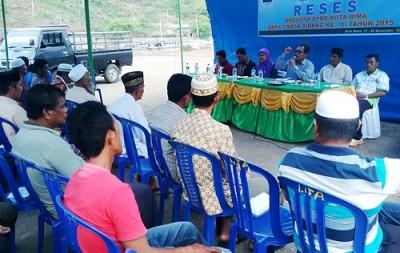 Reses DPRD Kota Bima Dapil I di Bonto. Foto: Bin