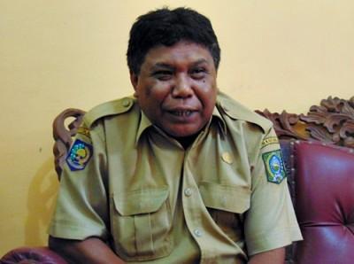 Sekretaris BP4K Kabupaten Bima Aventinus BK. Foto: Ady
