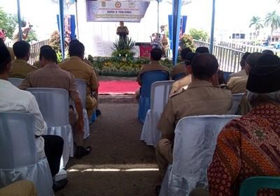 Silaturahmi warga kelurahan Tanjung dan Dara. Foto: Eric