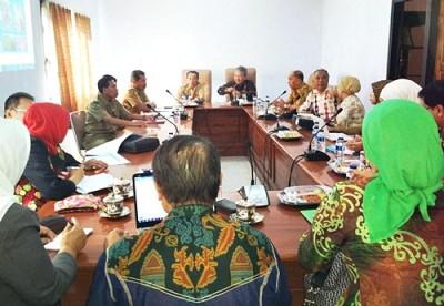 Studin Banding Pemprov Lampung di Bima. Foto: Hum
