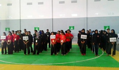 Turnamen Pencak Silat GP Ansor. Foto: Ady