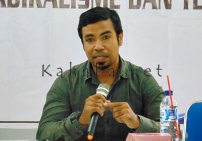 Akademisi STKIP Bima, Alfin Syahri. Foto: Ady