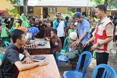 BSMI Kota Bima saat menggelar kegiatan di Ponpes Imam Safi'i. Foto: Bin