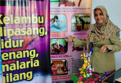 Kabid P2PL Dikes Kabupaten Bima, Raodah. Foto: Ady