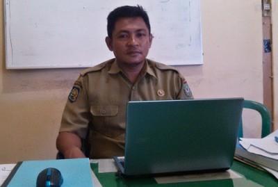 Kabid Pendapatan DPPKAD Kota Bima, Fajaruddin. Foto: Eric