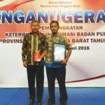 PPID Kabupaten Bima Raih Juara I Keterbukaan Informasi NTB