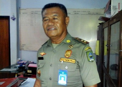 Kasat Pol PP Kabupaten Bima, Edi Darmawan. Foto: Deno