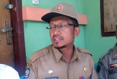 Kasta Pol PP Kota Bima Syarif Rustaman. Foto: Eric