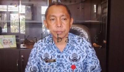 Kepala Dike Kota Bim H. Azhari. Foto: Bin