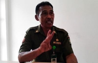 Kepala Pasar Wijaya Kusuma. Foto: Bin